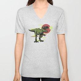 Tyrannosaurus Unisex V-Neck
