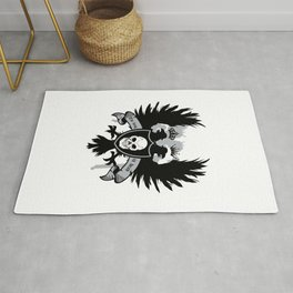 The king is dead Rug