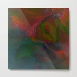 Abstract: lucid dream Metal Print