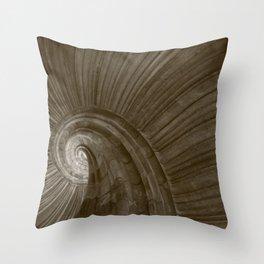 Sand stone spiral staircase 5 Throw Pillow