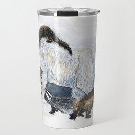 Awesome mustelids Travel Mug