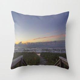 Sunrise View Throw Pillow