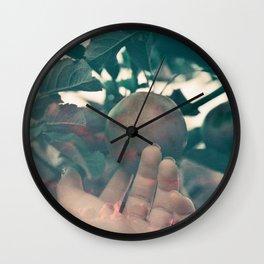 The Forbidden Fruit Wall Clock