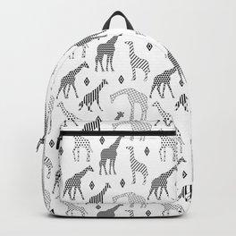 Geometric Giraffes Backpack