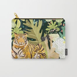 Tiger Sighting Carry-All Pouch