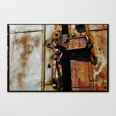 Rust and Rubble Canvas Print
