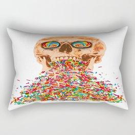 Death by Candy Rectangular Pillow