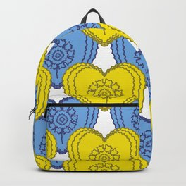 Hearts repeat pattern Backpack