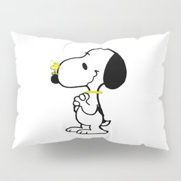 snoopy_with friend Pillow Sham
