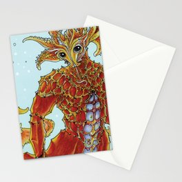 Seahorse Merman Stationery Cards