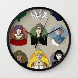 FUTURE SAILOR MOON QUEENS Wall Clock