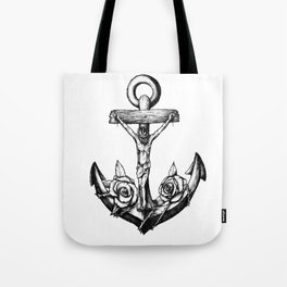 Anchor of hope. Tote Bag