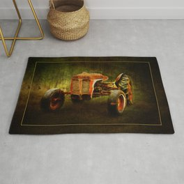 Waiting on LaGest ~ Tractor ~ Ginkelmier Inspired Rug