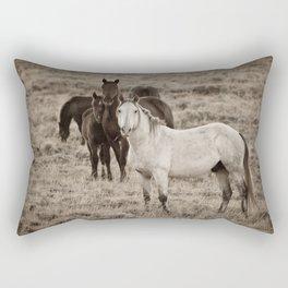 Cautious Rectangular Pillow