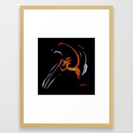 Make a Man Framed Art Print