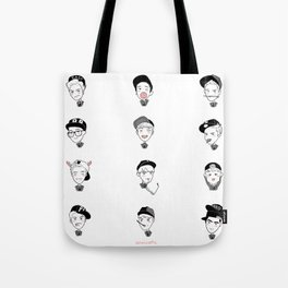 exo yearbook Tote Bag