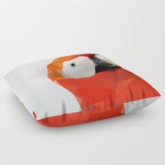 Geo - Parrot red Floor Pillow