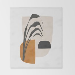 Abstract Shapes 3 Throw Blanket