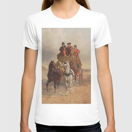 The Royal Mail Coach on the Road - John Herring  T-shirt