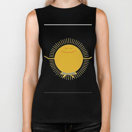 Sun worshiper Biker Tank