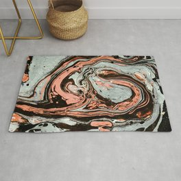 Abstract luxury painting marble Rug