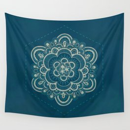 Floral Lace III Wall Tapestry