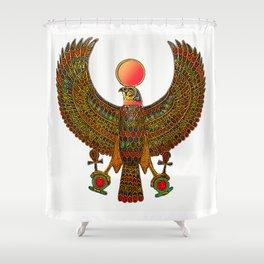 HORUS-EGYPTIAN DIETY Shower Curtain