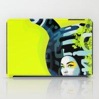 bunny iPad Cases featuring bunny by el brujo