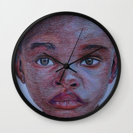 Young boy Wall Clock