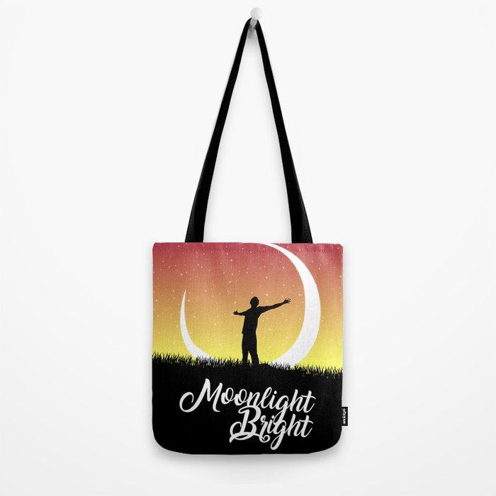 Moonlight Bright Tote Bag