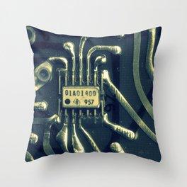 Circuit 957 Throw Pillow