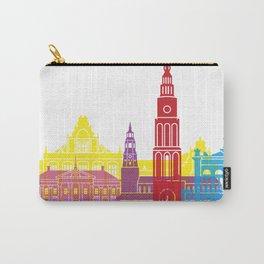 Groningen skyline pop Carry-All Pouch