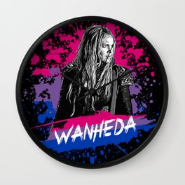 Wanheda the 100 - LGTB Wall Clock