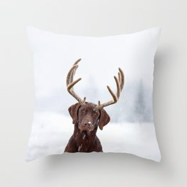 White wonder Throw Pillow