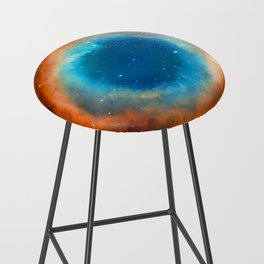 Eye Of God - Helix Nebula Bar Stool