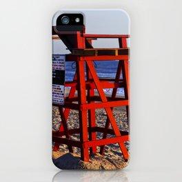 Beach Rules iPhone Case