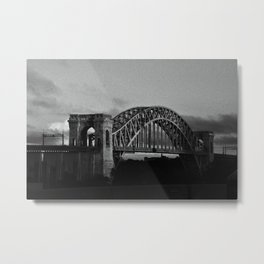 N Why Bridge Metal Print