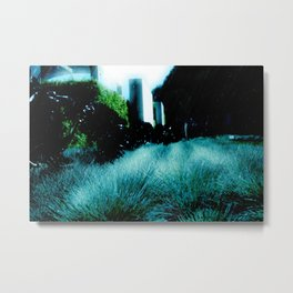 Alien Landscape - Getty Museum Gardens in Los Angeles Metal Print
