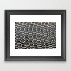 Hole in the net Framed Art Print