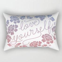 Love yourself color Rectangular Pillow