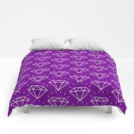 DIAMOND ((violet)) Comforters
