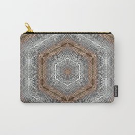 Hammered Diamonds Carry-All Pouch