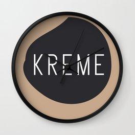 KREME Wall Clock