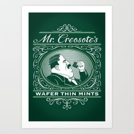 Wafer Thin Mints Art Print