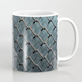 Wire and glass background texture pattern close detail Coffee Mug