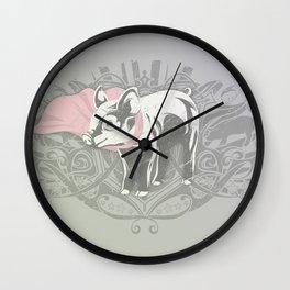 Fearless Creature: Oinx Wall Clock