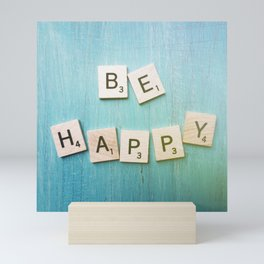 Be Happy Mini Art Print