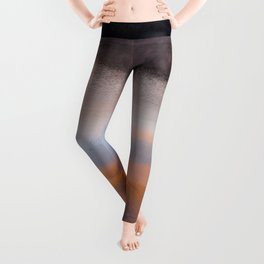 Out of the Depths (Sunrise on Lake George) Leggings