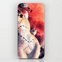 Coeur de prirate iPhone Skin
