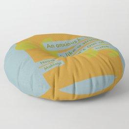 An Anxious Heart Floor Pillow